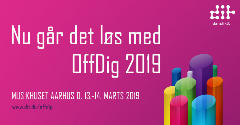 Mød Magenta på OffDig konference 2019 i Musikhuset i Aarhus