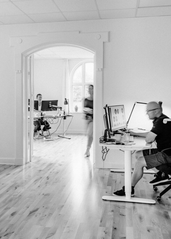 Magenta kontor i Aarhus