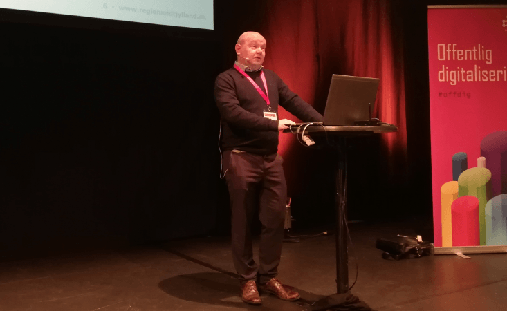 Morten Juul fra Region Midt fortæller om ODA