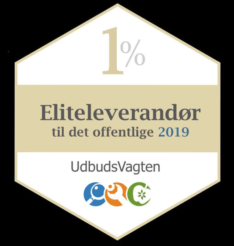 Endelig er vi igen i 2020 certificeret som eliteleverandør til det offentlige.